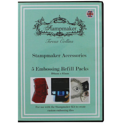Teresa Collins Stampmaker 5 Embossing Refill Packs image number 1