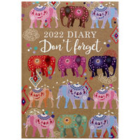 A5 Don't Forget 2022 Day a Page Diary