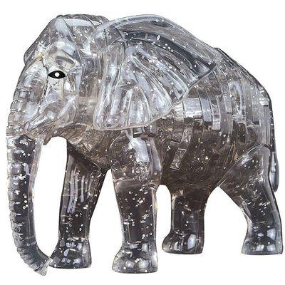3D Elephant 41 Piece Jigsaw Puzzle image number 2