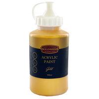 Gold 500ml Acrylic Paint