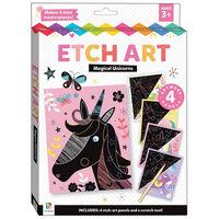 Etch Art: Magical Unicorns