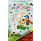A4 Peelable Dry Wipe Sheets - 2 Pack image number 1