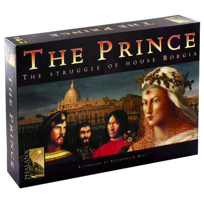 The Prince - The Struggle Of House Borgia Strategy Card Game image number 1