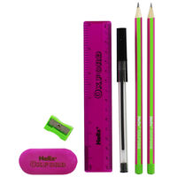 Helix Oxford Limited Edition Student Stationery Set - Pink