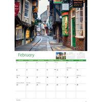York A4 Calendar 2021