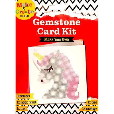 Make Your Own - Gemstone Card Kit image number 1