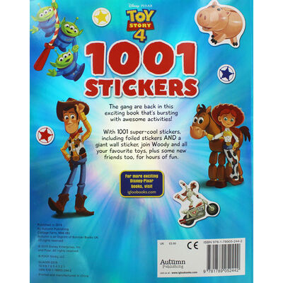 Toy Story 4: 1001 Stickers image number 3