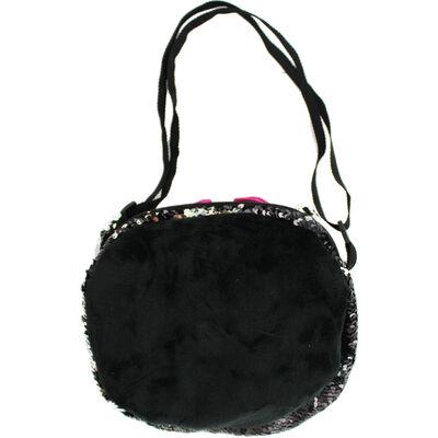 Black Silver Cat Sequin 3 In 1 Bag image number 3
