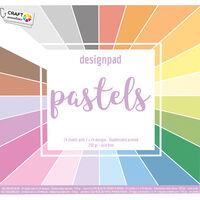 Colour Spectrum Paper Pad - 30cm x 30cm - Assorted