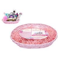 Pink Oval Hamper Kit