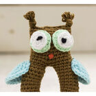 Cute Companions Miniature Handheld Crochet Kit - Olly the Owl image number 3
