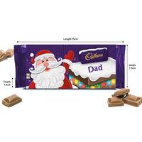 Cadbury Dairy Milk Chocolate Bar 110g - Dad
