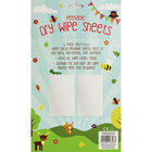 A4 Peelable Dry Wipe Sheets - 2 Pack image number 3