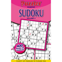 Puzzler Bumper Sudoku Book