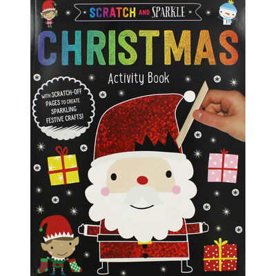 Scratch and Sparkle Christmas Activity Book image number 1