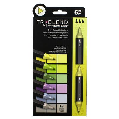 Spectrum Noir TriBlend - Natural Blends - 6 Pack image number 1