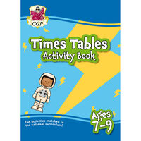 Times Table Activity Book: Ages 7-9