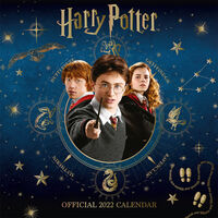Official Harry Potter 2022 Square Calendar