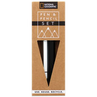 National Geographic Pen and Pencil Set
