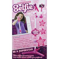 Superstar Selfie Microphone Stand