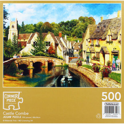 Castle Combe 500 Piece Jigsaw Puzzle image number 4