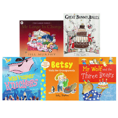Large Family and Pals - 10 Kids Picture Books Bundle image number 2