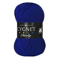 Cygnet Chunky Royal Blue Yarn - 100g