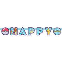 Pokemon Happy Birthday Letter Banner 2.18m