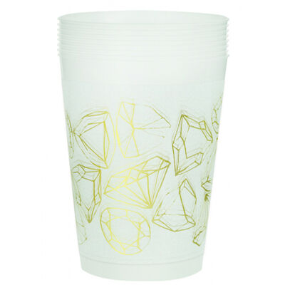 Hen Do Plastic Cups - 8 Pack image number 1