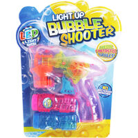 Light Up Bubble Shooter - Assorted