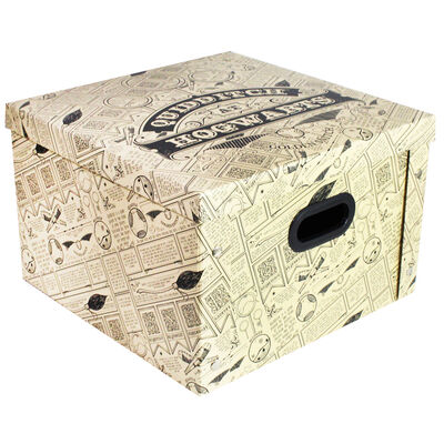 Harry Potter Quidditch Collapsible Storage Box image number 1