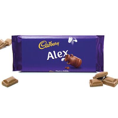 Cadbury Dairy Milk Chocolate Bar 110g - Alex image number 2