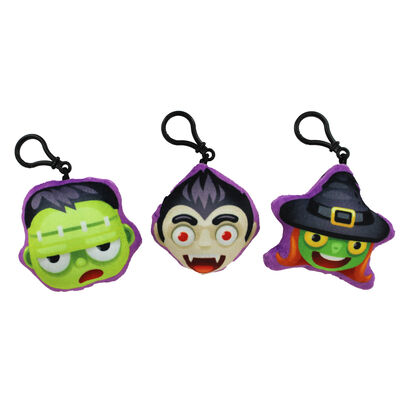 Novelty Spooky Halloween Keyring with Sound - Assorted image number 3