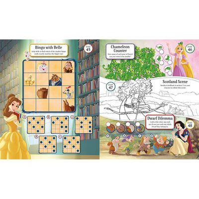 Disney Princess 365 Puzzles & Activities image number 3