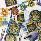 Harry Potter House Crest Rubber Bracelets: Pack of 4 image number 2