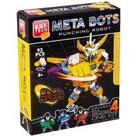 Meta Bots Punching Robot: Yellow Cobra