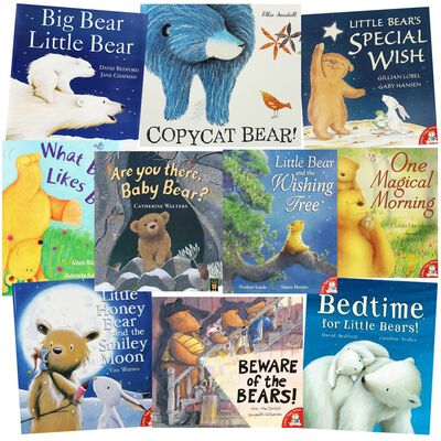 Bedtime For Little Bears: 10 Kids Picture Books Bundle image number 1