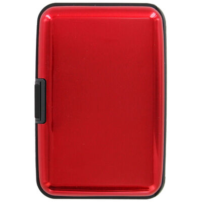 Red Credit Card Protector Case image number 3