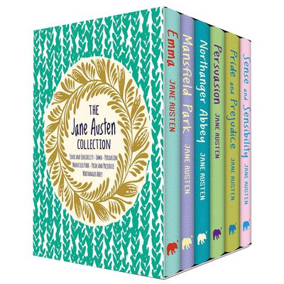 The Jane Austen Collection: 6 Book Box Set image number 1