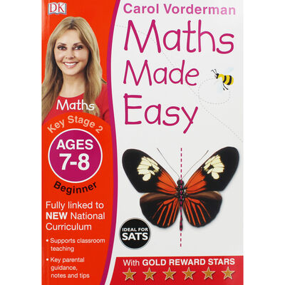 Maths Made Easy: Beginner - Ages 7-8 image number 1