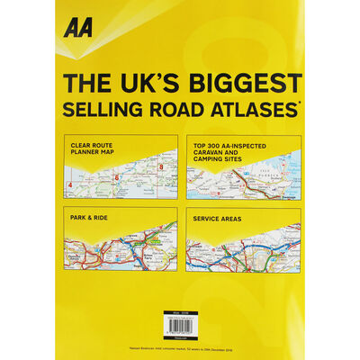 AA: Large Scale Road Atlas Britain 2020 image number 4