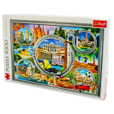Italian Holiday 1000 Piece Jigsaw Puzzle image number 3