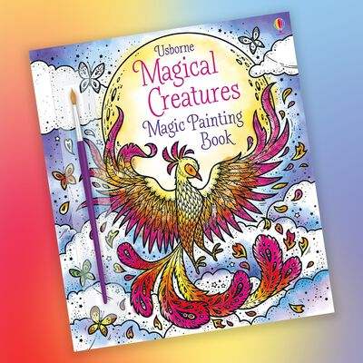 Magical Creatures Magic Painting Book image number 2
