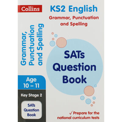 KS2 English Grammar Punctuation and Spelling SATs Question Book image number 1