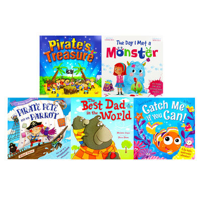 Pirate Adventures: 10 Kids Picture Books Bundle image number 2