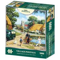 Village Postman 1000 Piece Jigsaw Puzzle