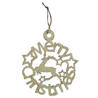 Wooden Hanging Merry Christmas Sign