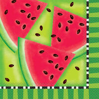 Summer Watermelon Party Napkins: Pack of 16
