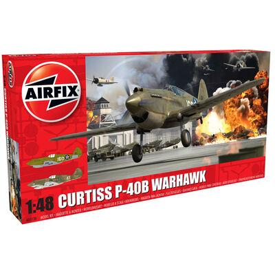 Airfix 1-48 Curtiss P-40B Warhawk Model Kit image number 1