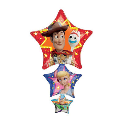 42 Inch Toy Story Star Trio Helium Balloon image number 1